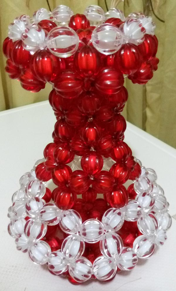 Beaded Flower Vases Uje Royal Design Xclusive Product Shop